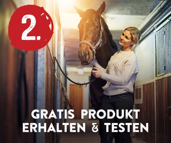 Schritt 2: Gratis Produkt erhalten und testen