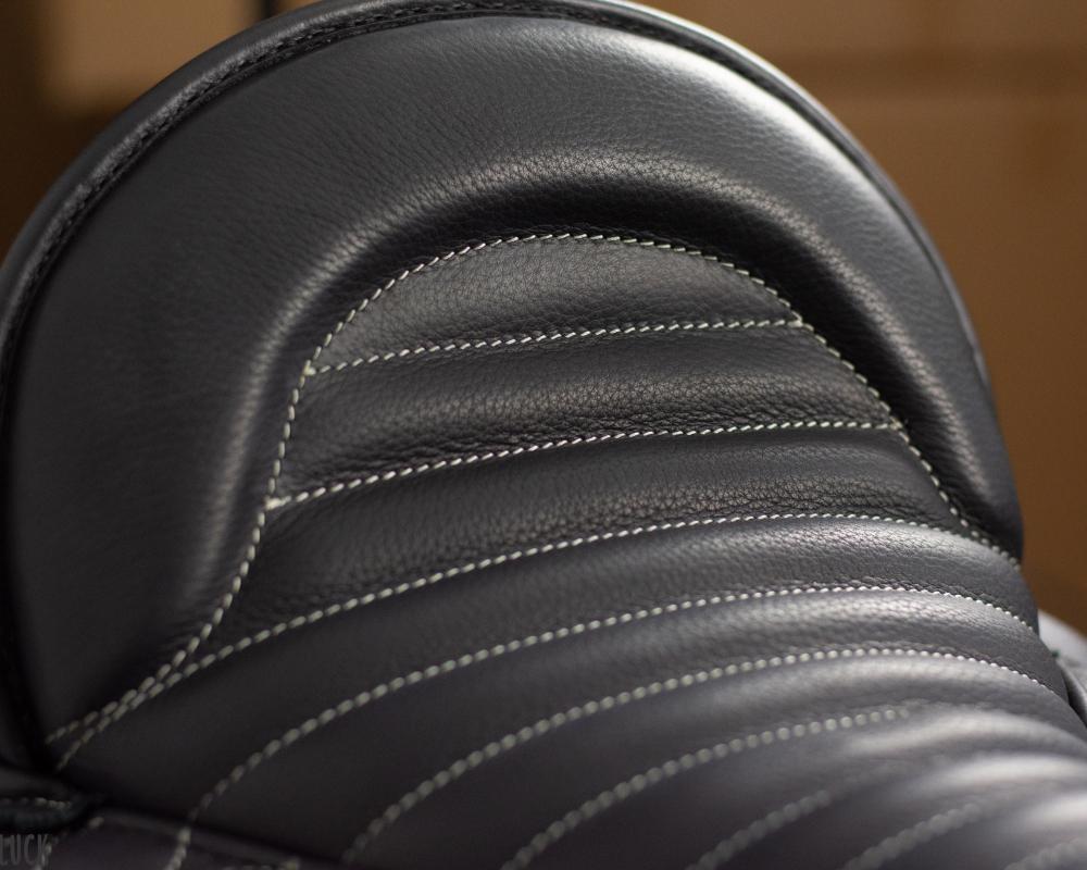 Baumloser Sattel: Sitzfläche