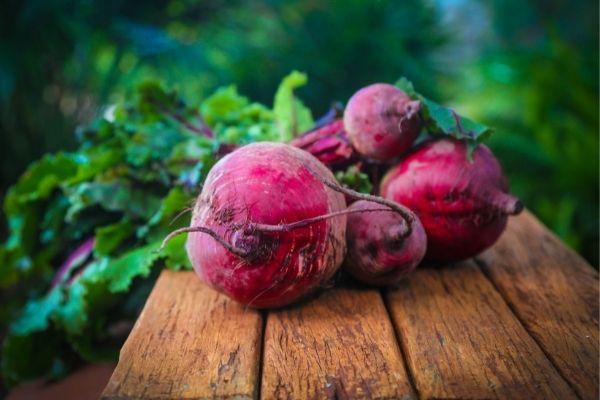 Obst und Gemüse für Pferde: Rote Beete für Pferde